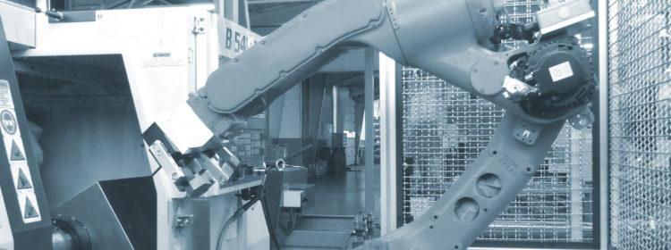 Bearbeitung mit Roboterautomatisierung