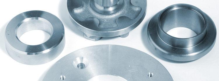 verschiedene CNC-bearbeitete Werkstücke